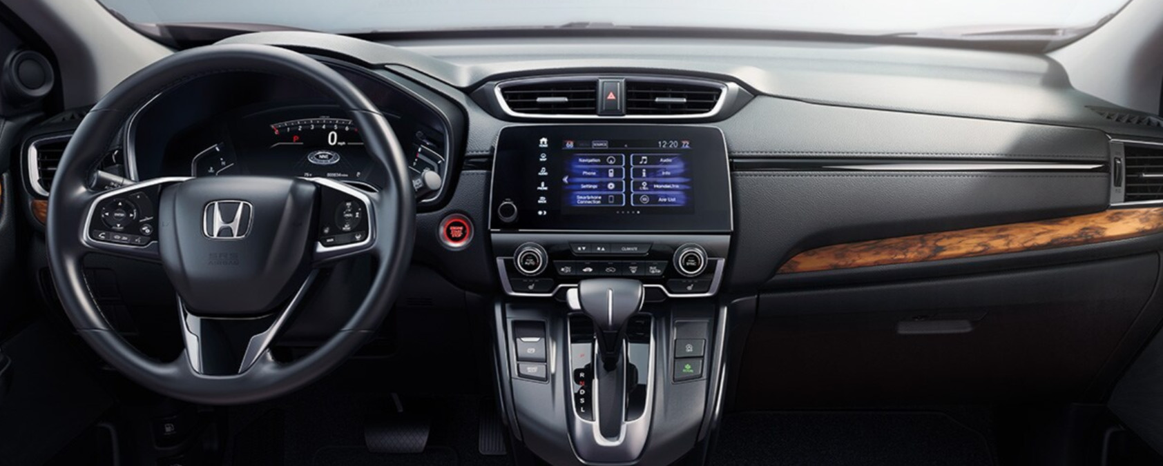 Interior of the 2020 Honda CR-V