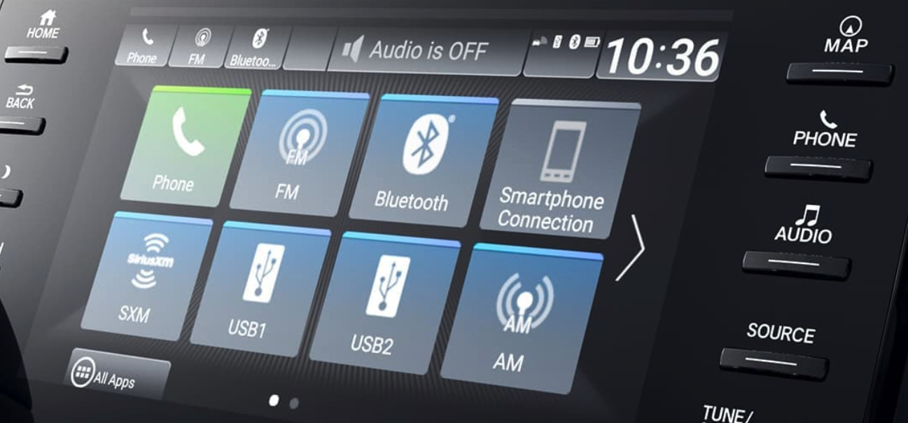 Access Your Media With a Tap in the 2020 Honda Accord!