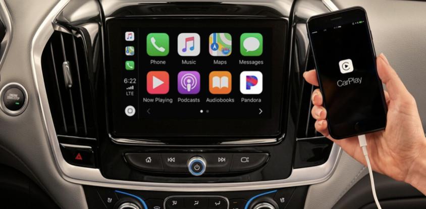 Pantalla digital de 8 pulgadas de la nueva Chevrolet Traverse 2020.