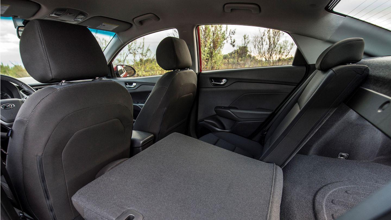 2020 Hyundai Accent Cabin Space
