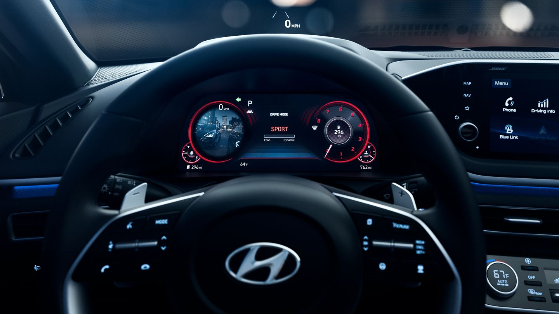 2020 Hyundai Sonata Available Blind-Spot View Monitor