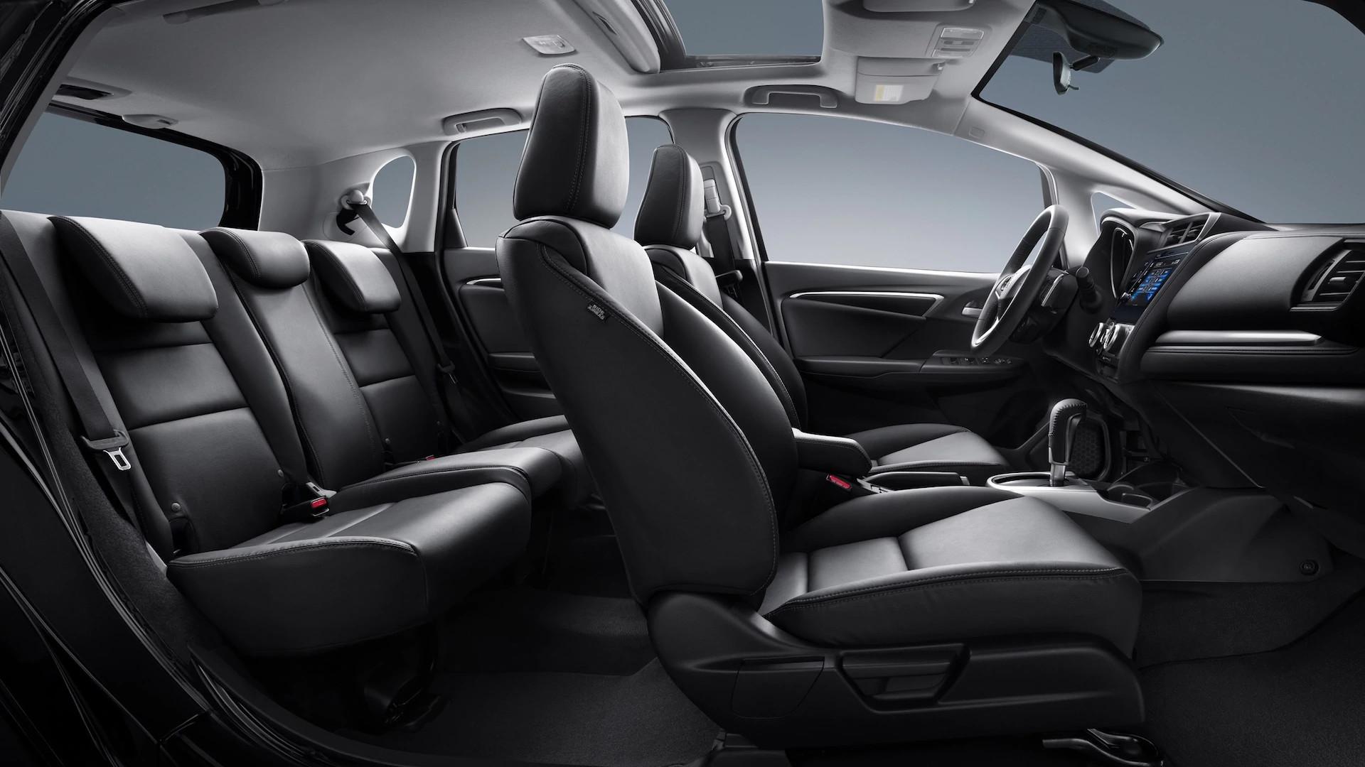 Interior of the 2020 Honda Fit