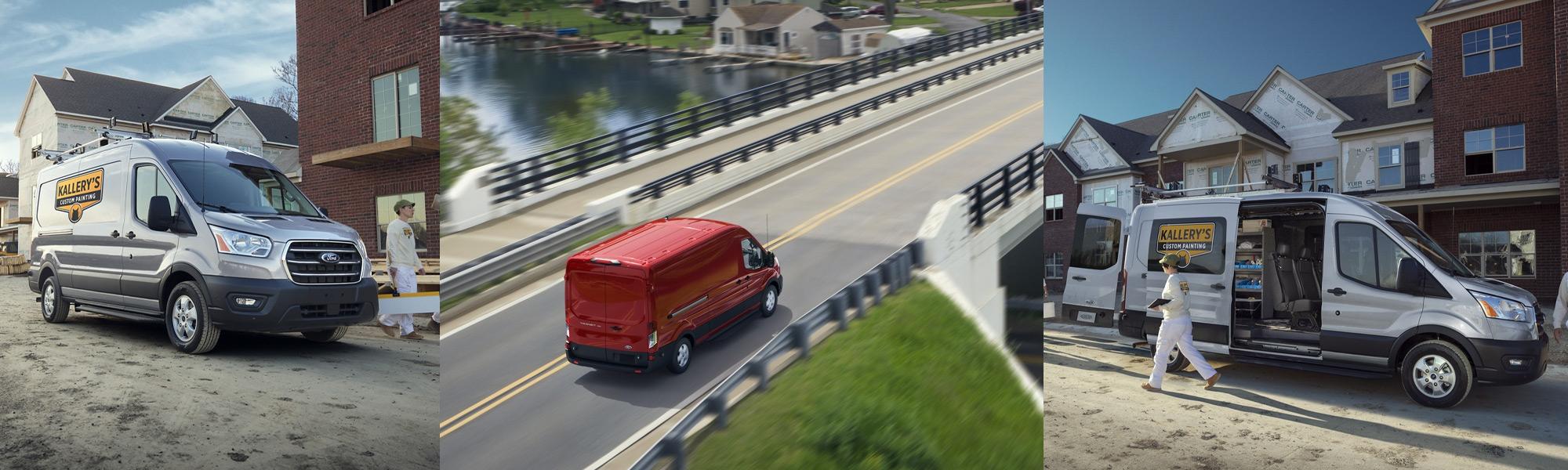 2020 Ford Transit van all-wheel-drive