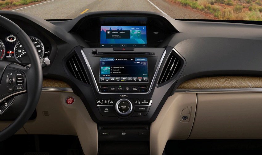 Modern Cabin of the 2020 Acura MDX
