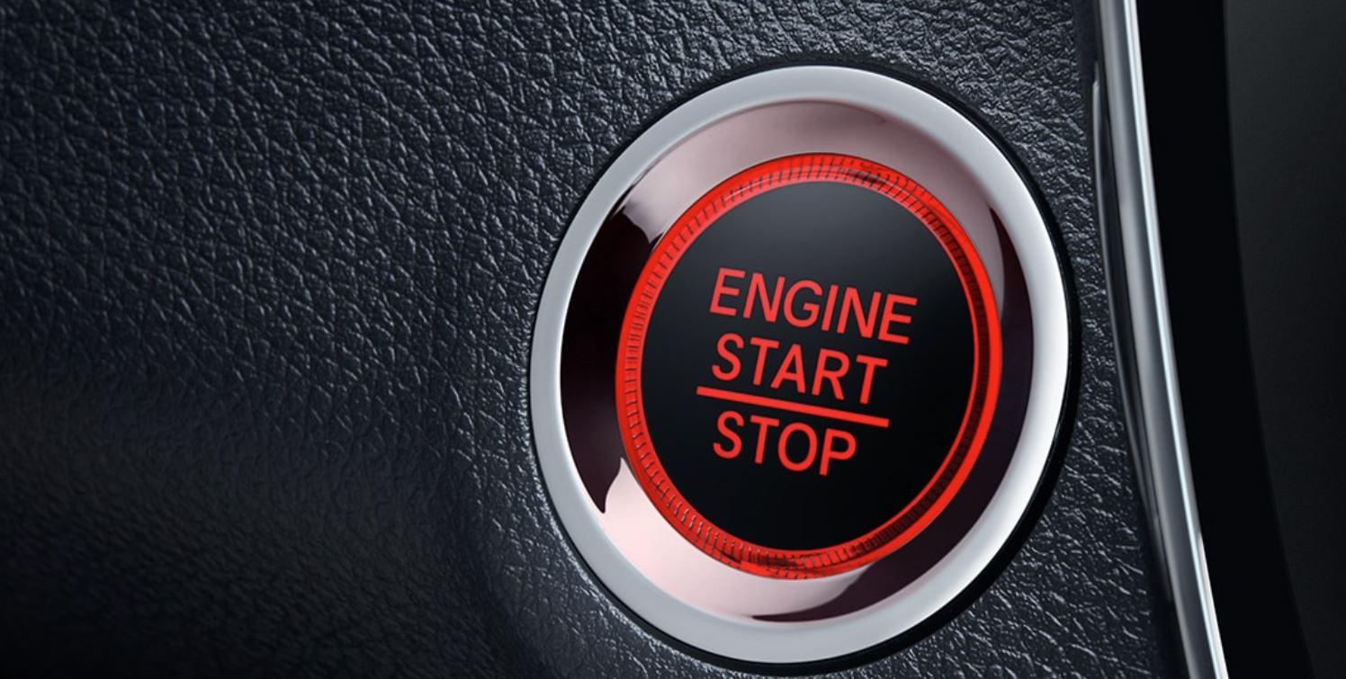 Push Button Start in the 2020 HR-V