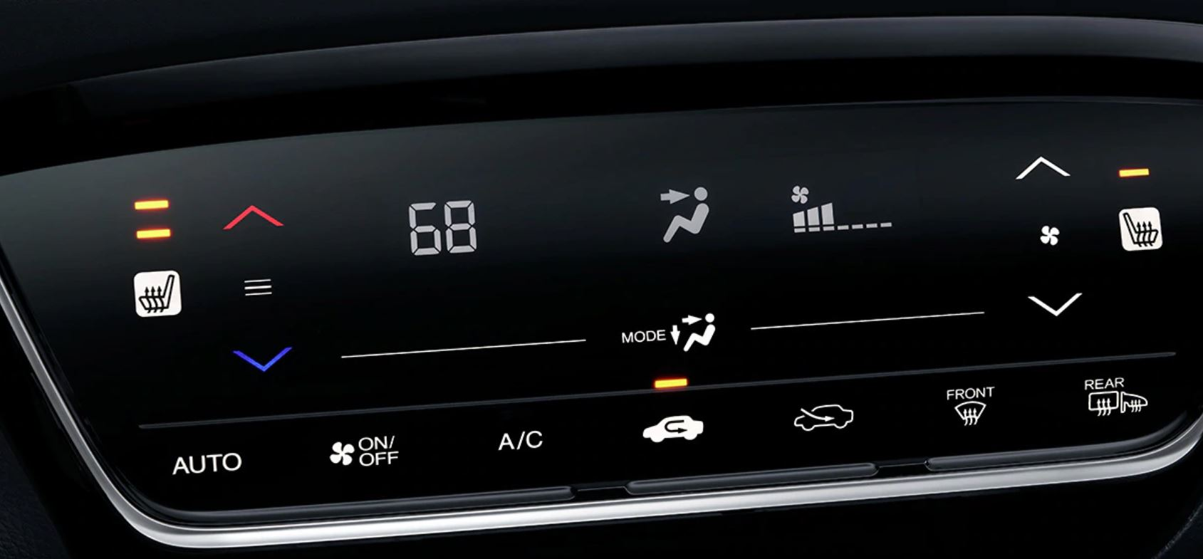 Climate Controls in the 2020 Honda HR-V