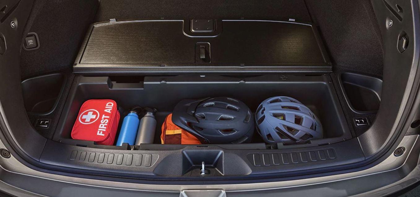Storage in the 2020 Honda Passport