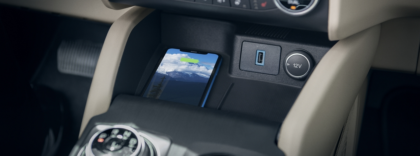 Wireless Charger in the 2020 Ford Escape