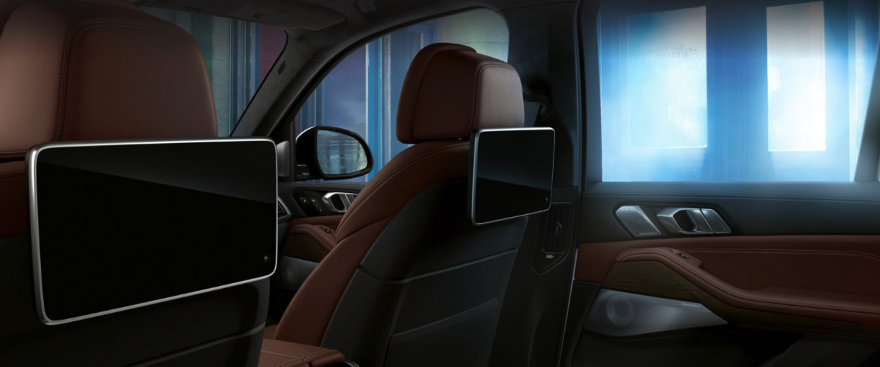 Interior of the 2020 BMW X5