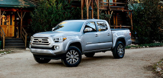 2020 Toyota Tacoma Trim Comparison