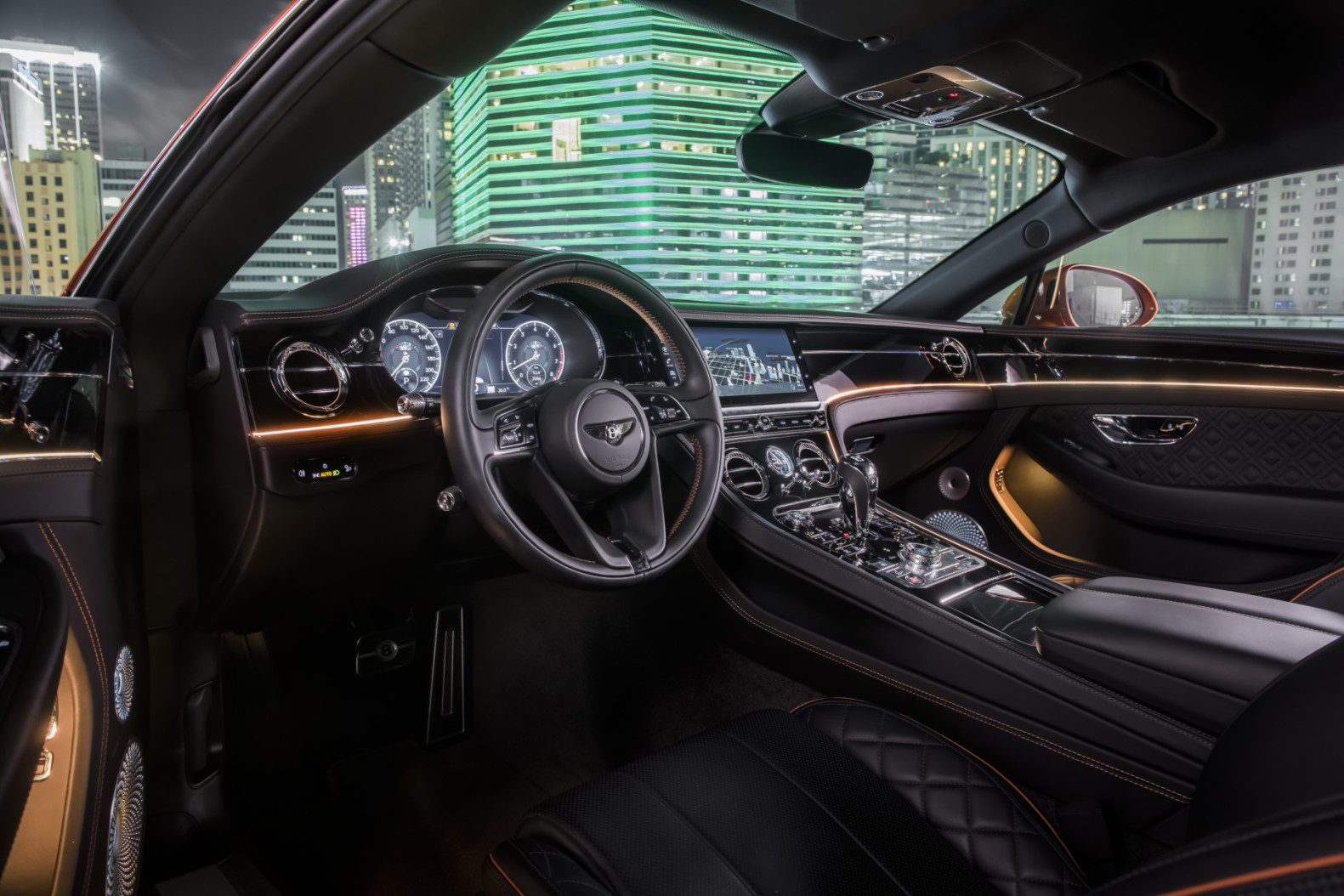Refined Interior of the 2020 Continental GT