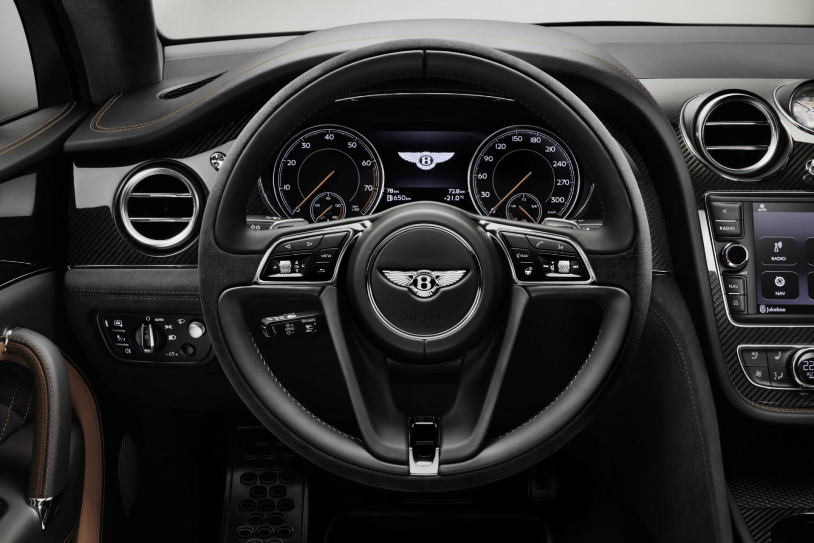 2020 Bentayga Steering Wheel