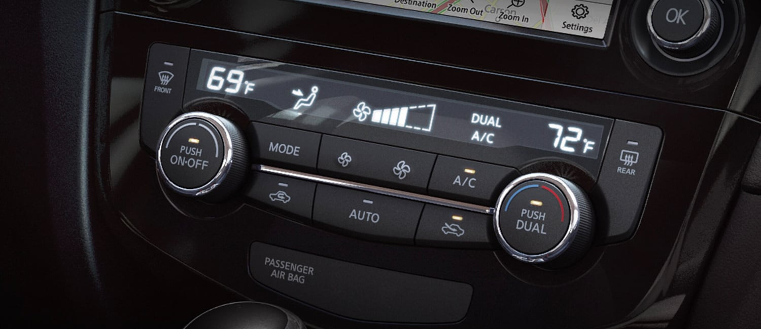 2020 Rogue Dual-Zone Climate Control