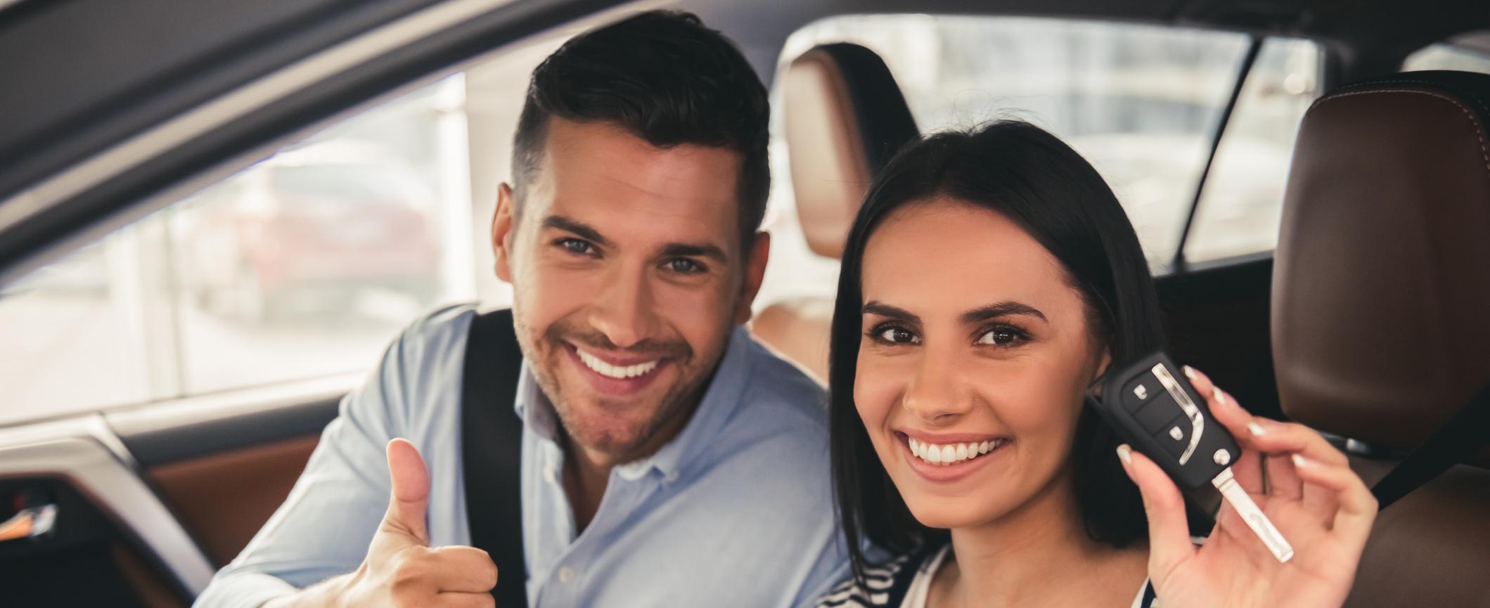 Opciones de arrendamiento de automóviles cerca de North County, CA