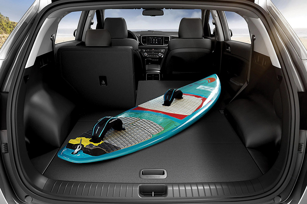 Ample Storage in the 2020 Sportage