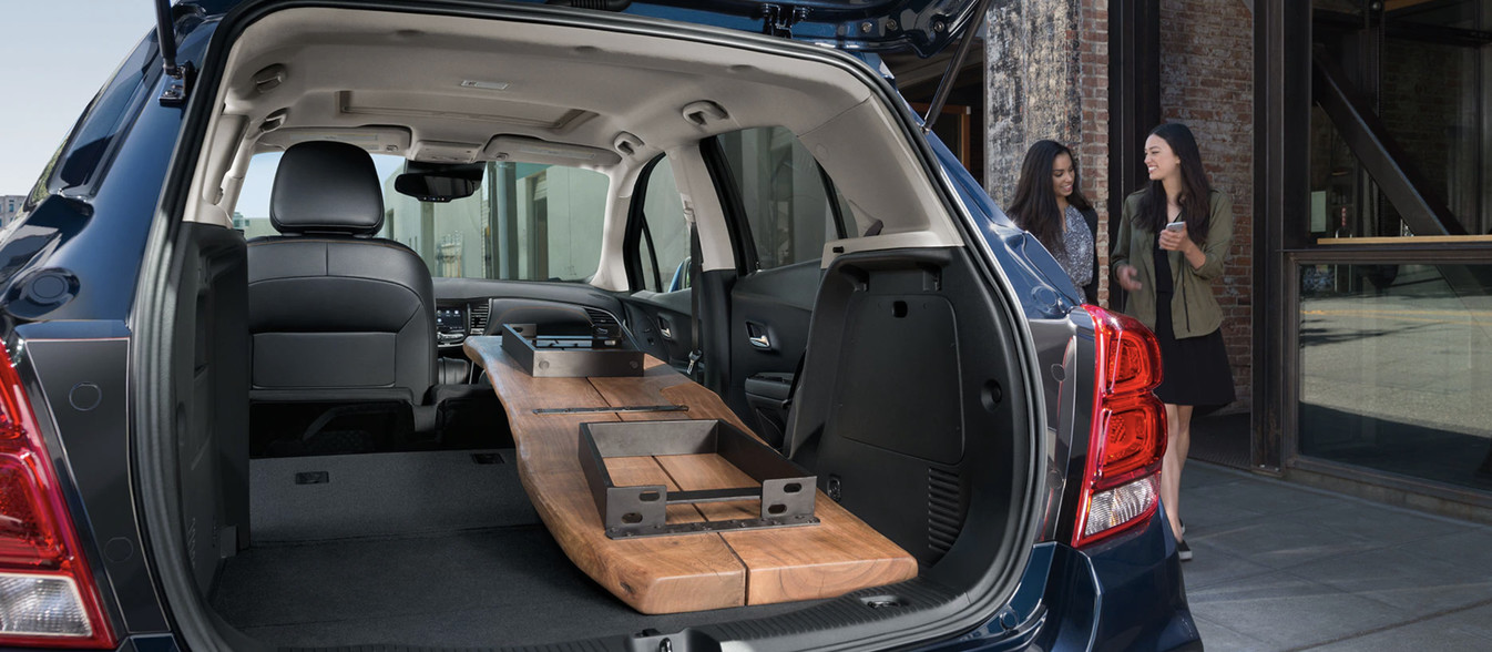 2020 Trax Cargo Space