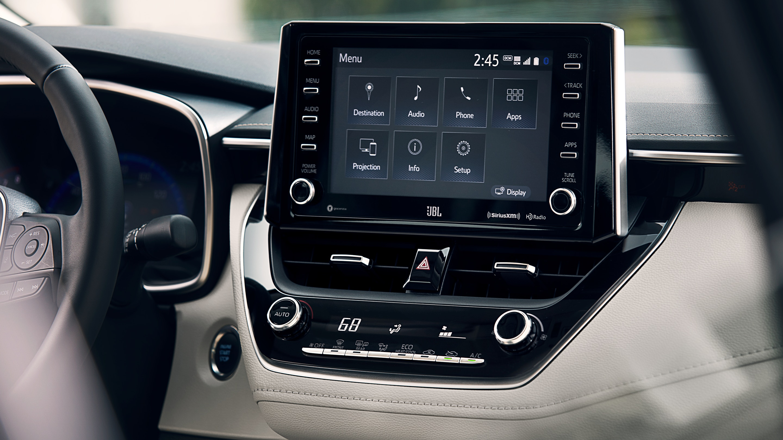 Touchscreen Display in the 2020 Toyota Corolla