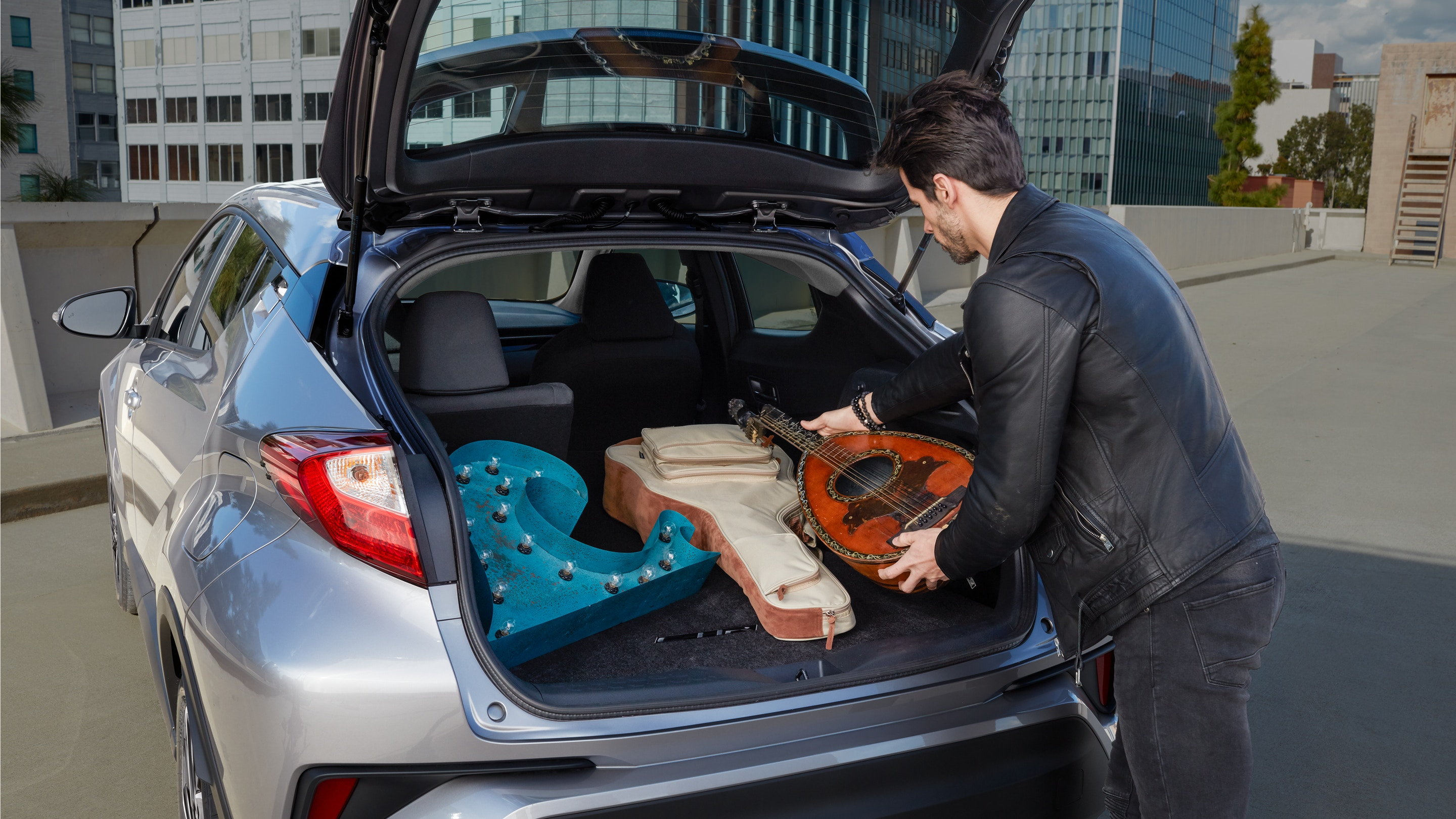 Cargo Space in the 2020 Toyota C-HR