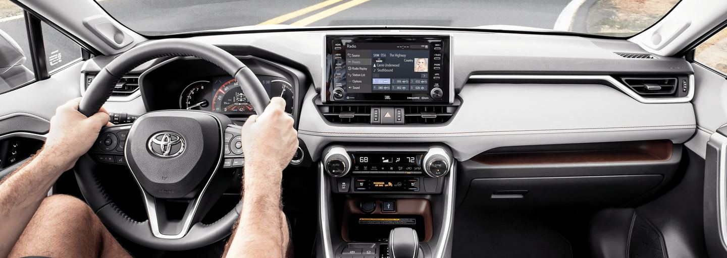 Tech Features in the 2020 Toyota RAV4