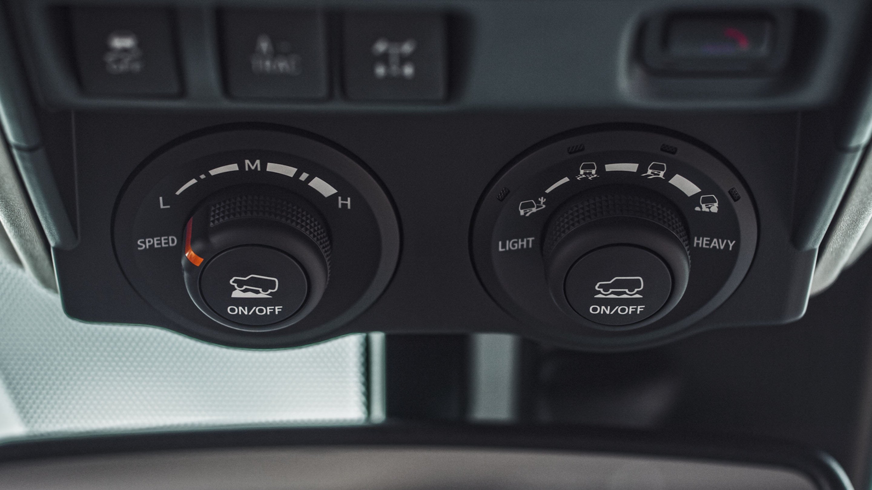 Climate Controls in the 2020 Toyota 4Runner