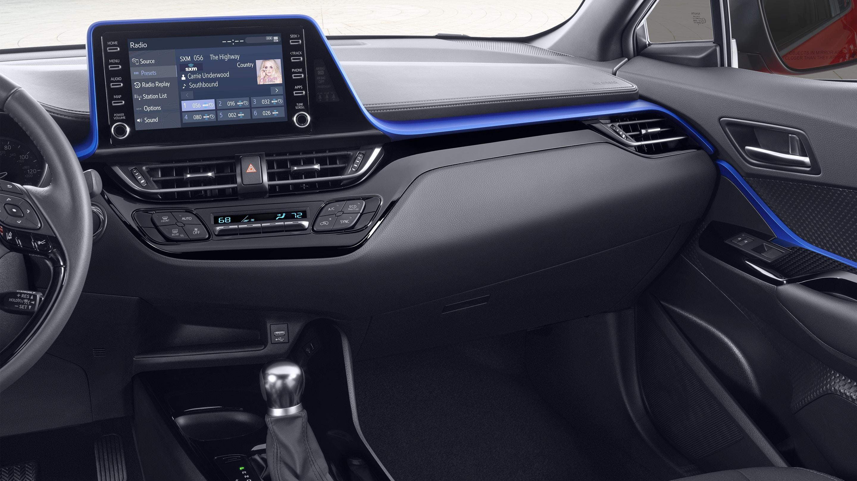 2020 Toyota C-HR Dashboard