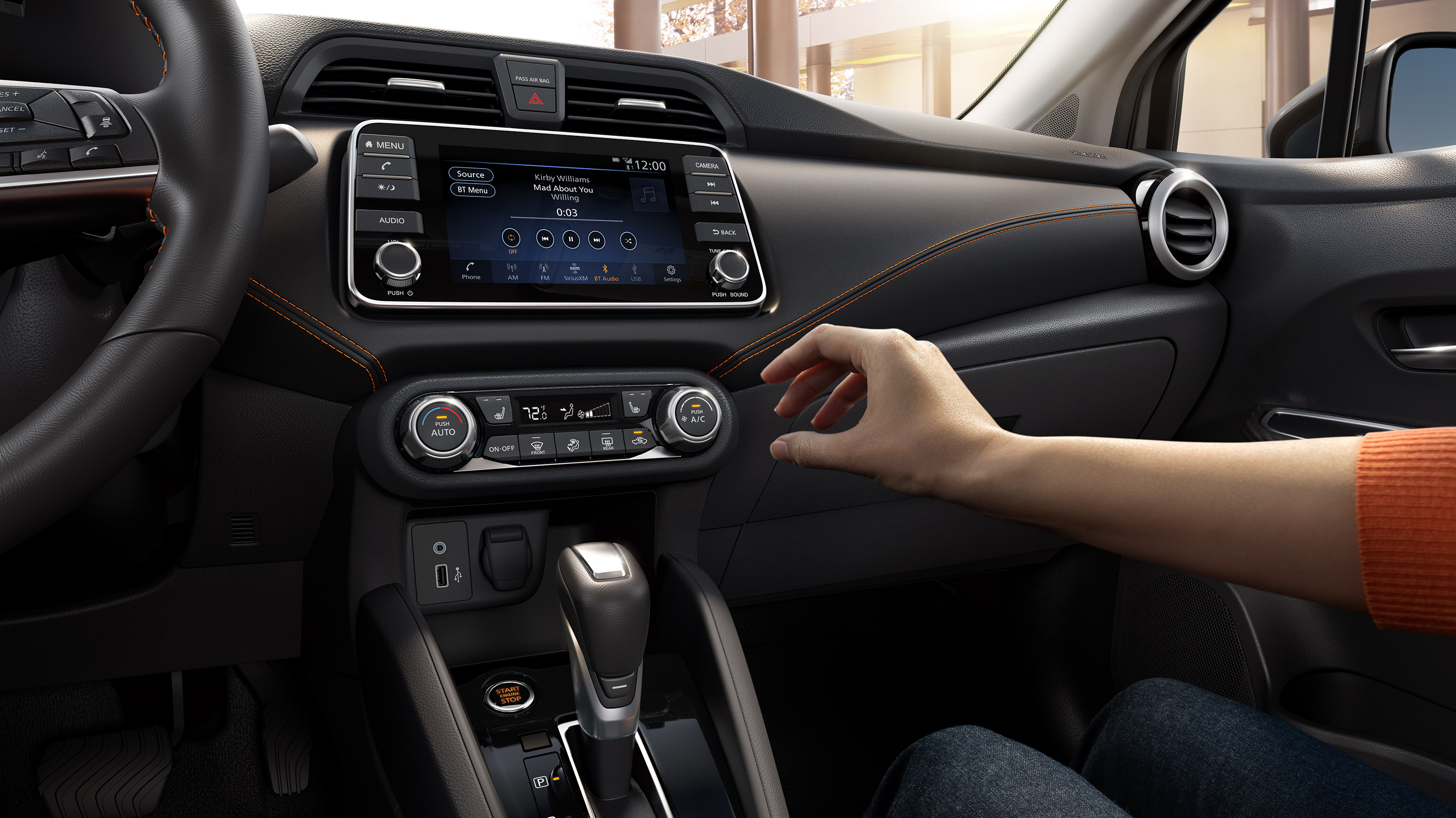 2020 Nissan Versa User-Centric Touchscreen and Controls