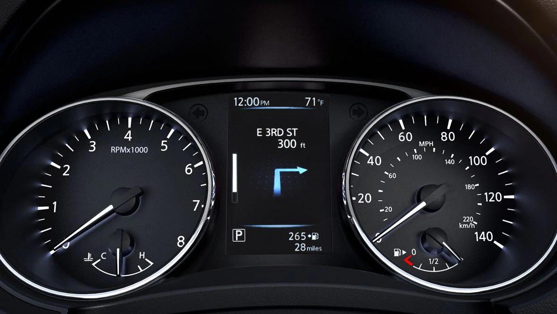2020 Nissan Rogue Sport Advanced Drive-Assist® Display