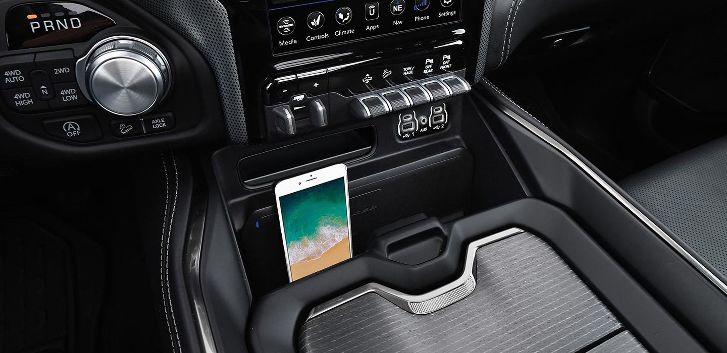Controls at Your Fingertips in the 2020 Ram 1500