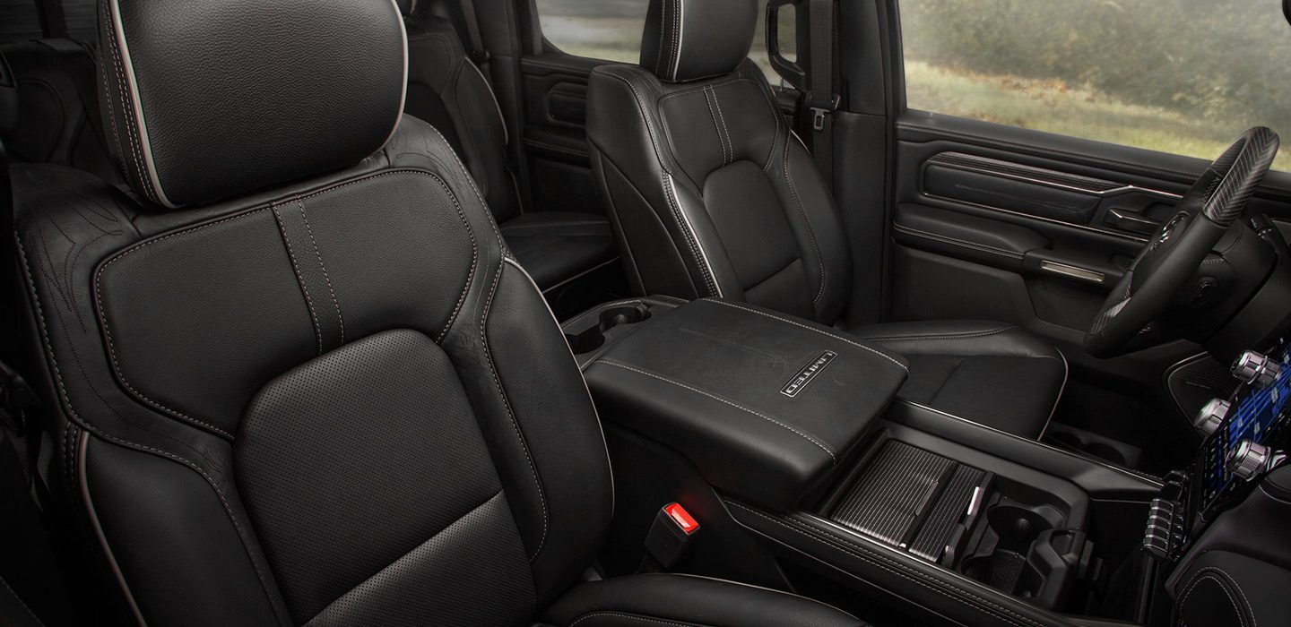 Front Seat in the 2020 Ram 1500