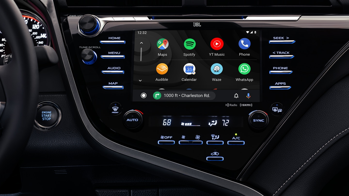 Infotainment System in the 2020 Toyota Camry