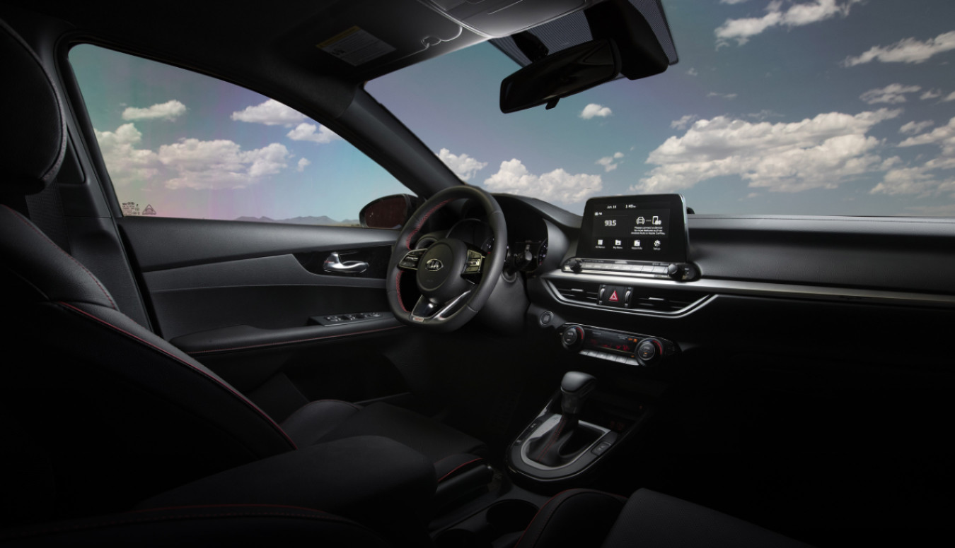 The Secure Cabin of the 2020 Kia Forte