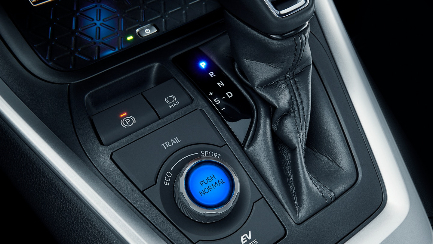 Select Your Driving Mode Quickly in the 2020 Toyota RAV4 Hybrid