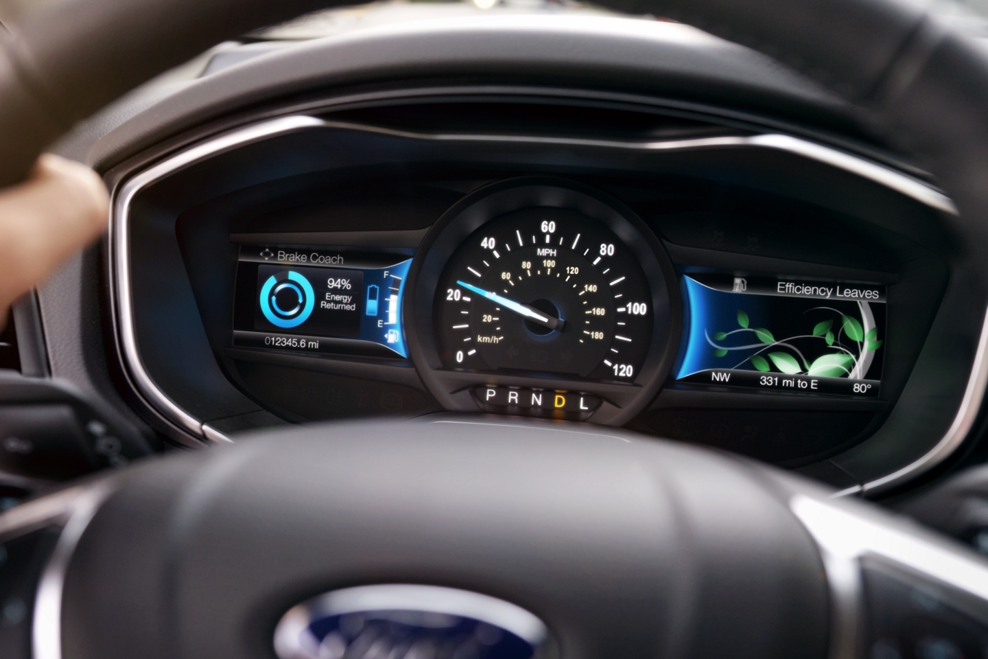Power in the 2020 Ford Fusion