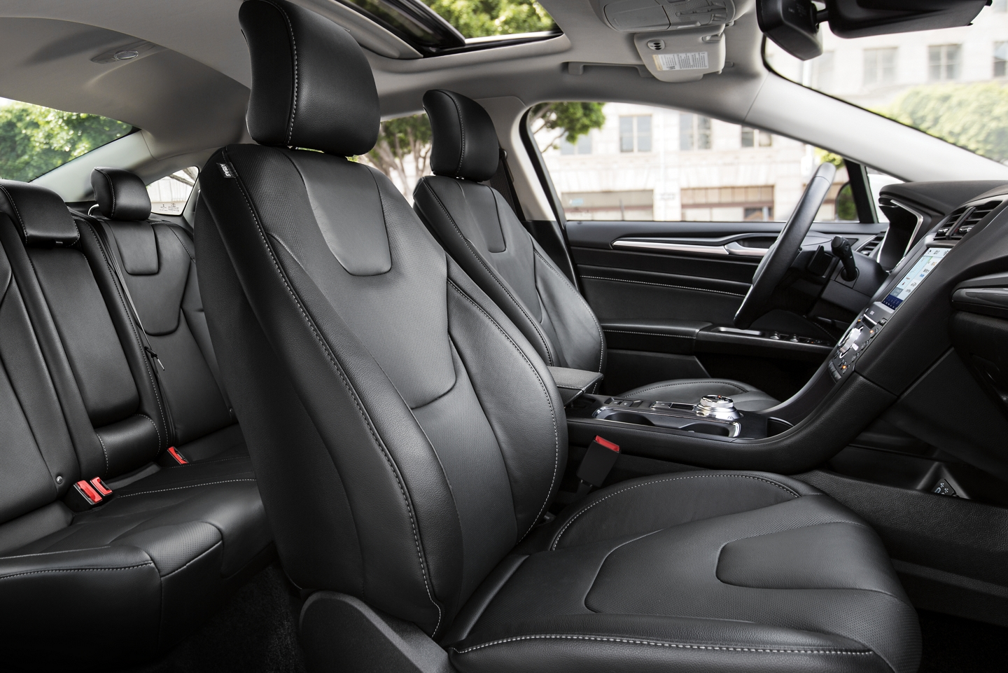 Seating in the 2020 Ford Fusion