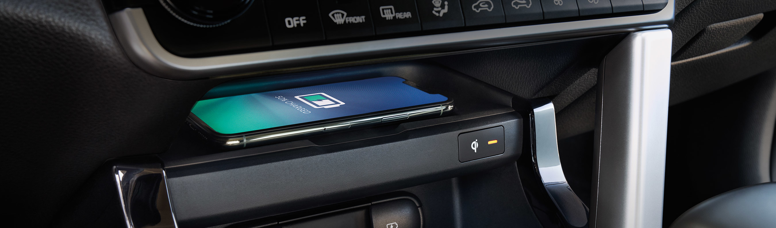 Charge Your Device Quickly in the 2021 Kia Seltos
