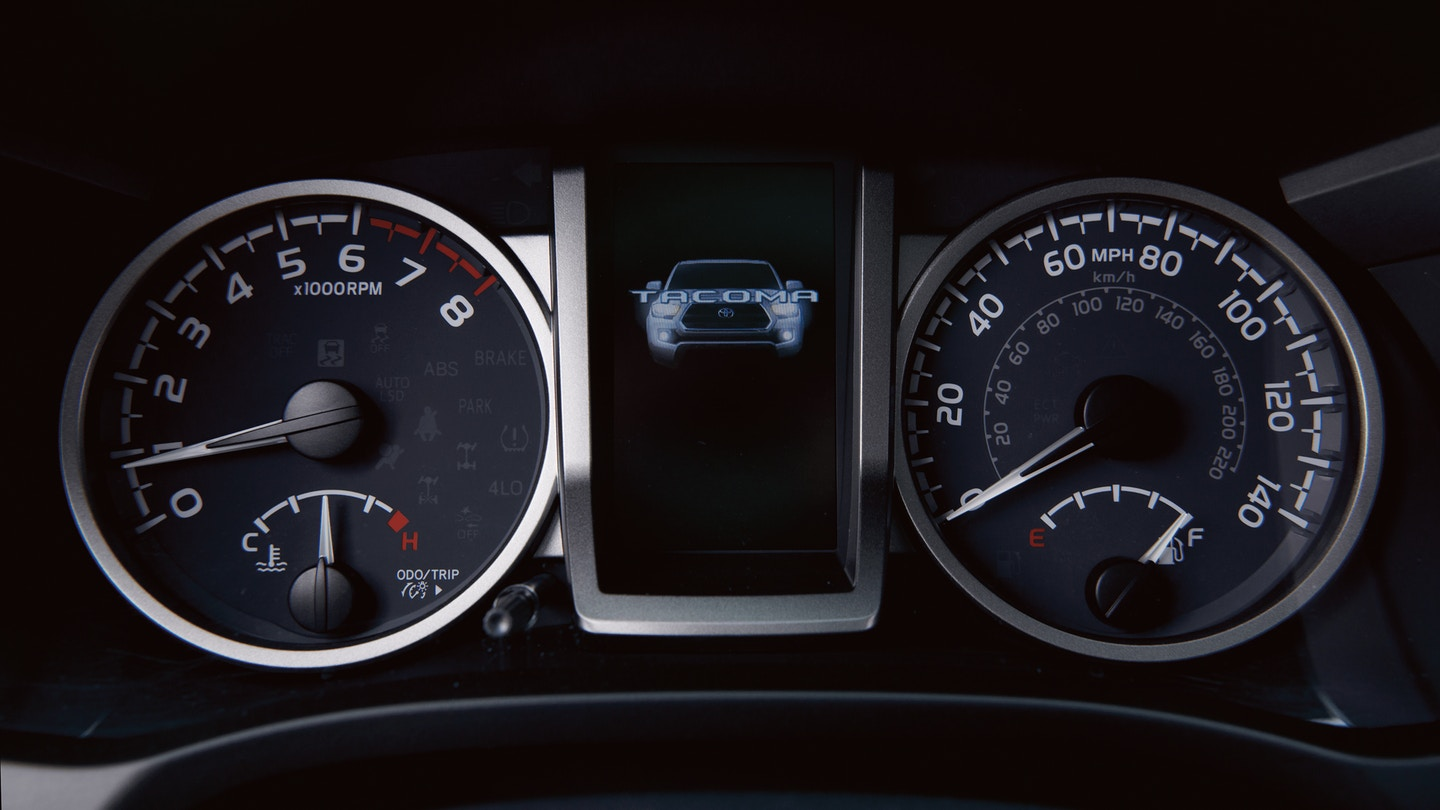 2020 Tacoma Instrument Cluster