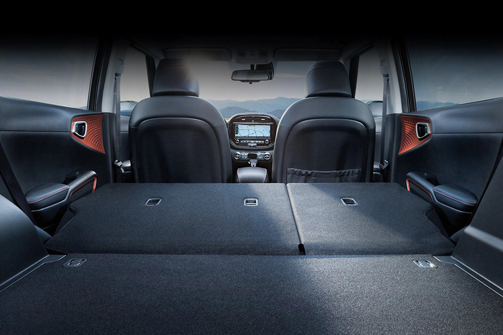 Ample Storage Space in the 2020 Soul
