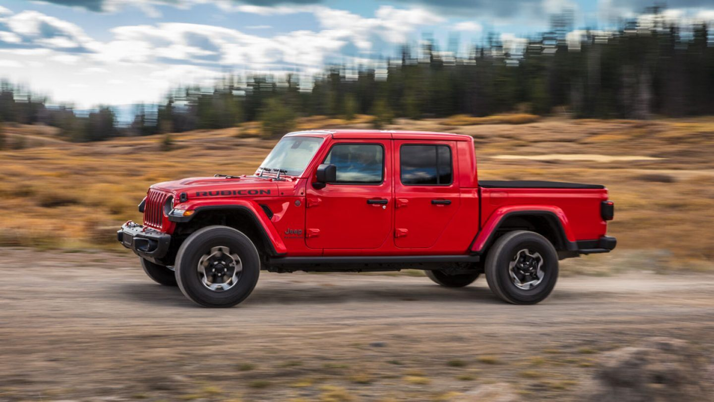 2020 Jeep Gladiator Lease Near Vincennes In