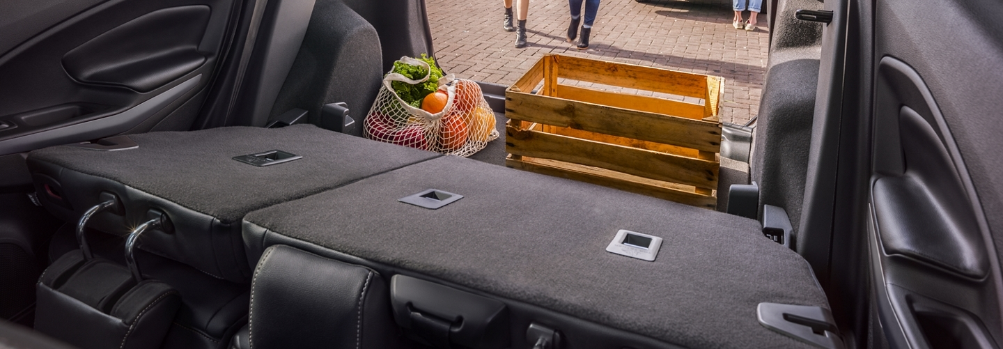 Cargo Room in the 2020 EcoSport
