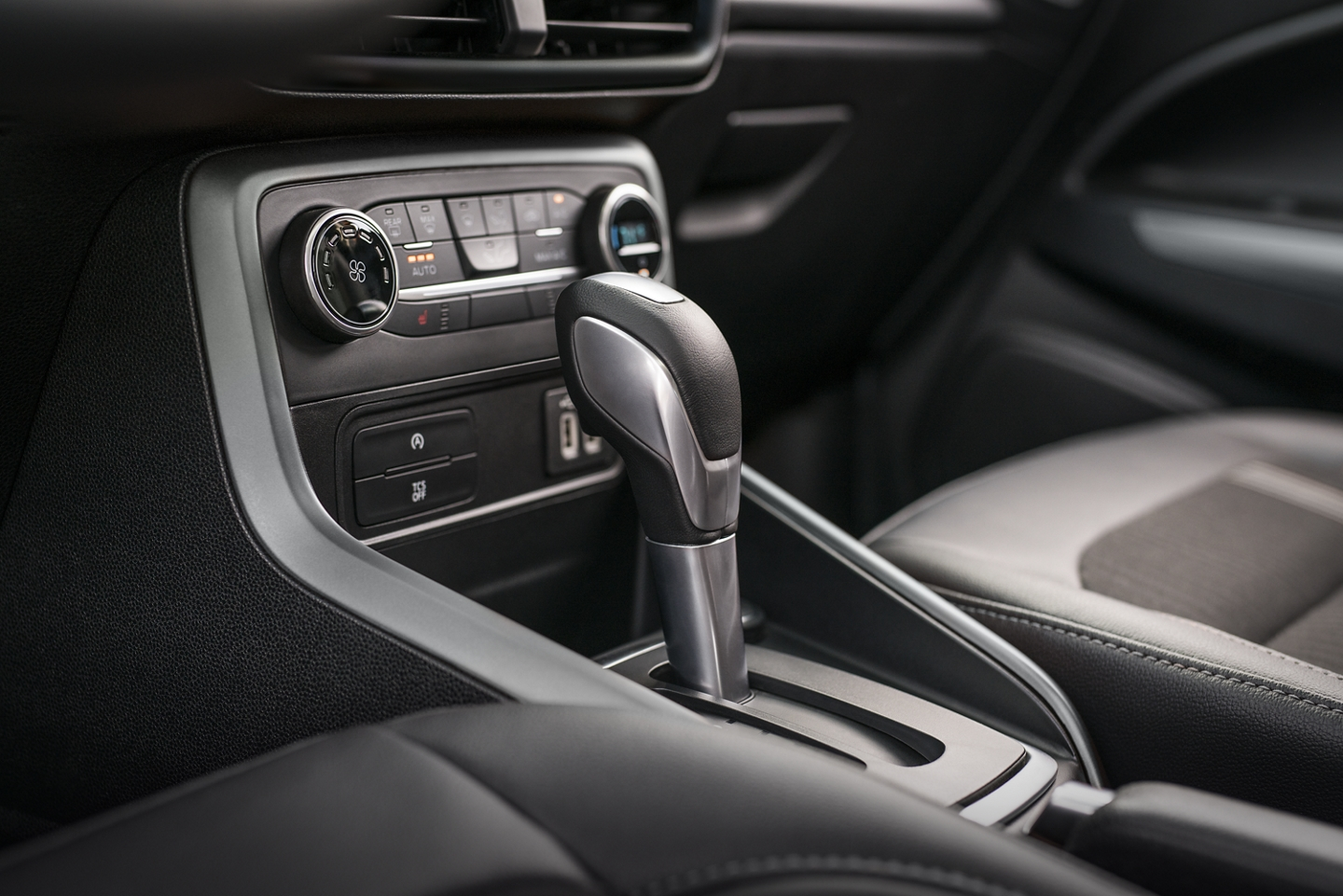 Controls in the 2020 EcoSport