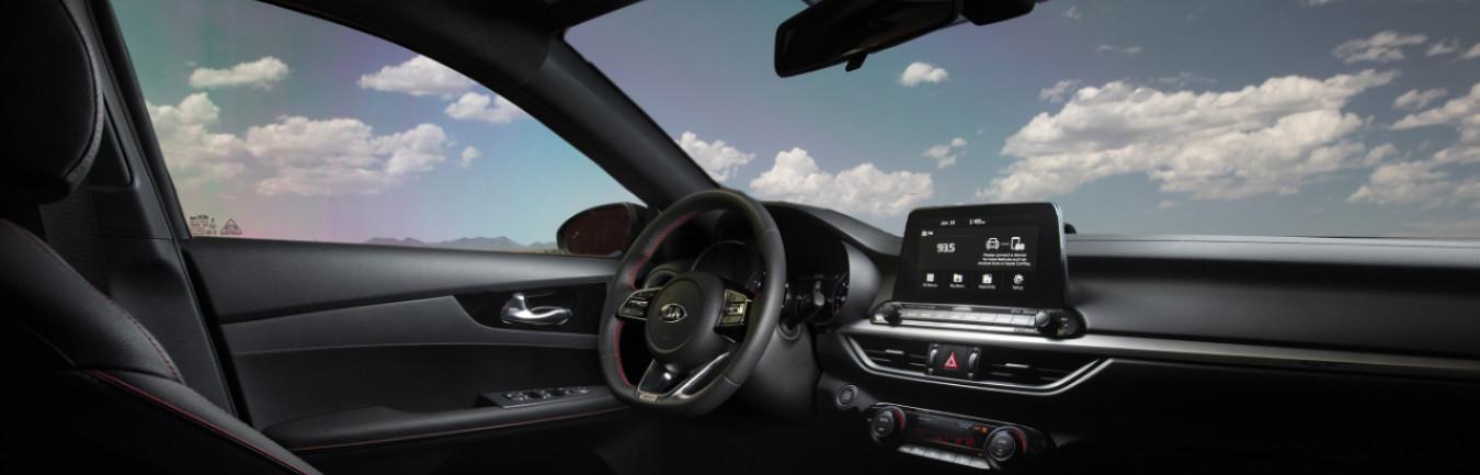 2020 Kia Forte Dashboard