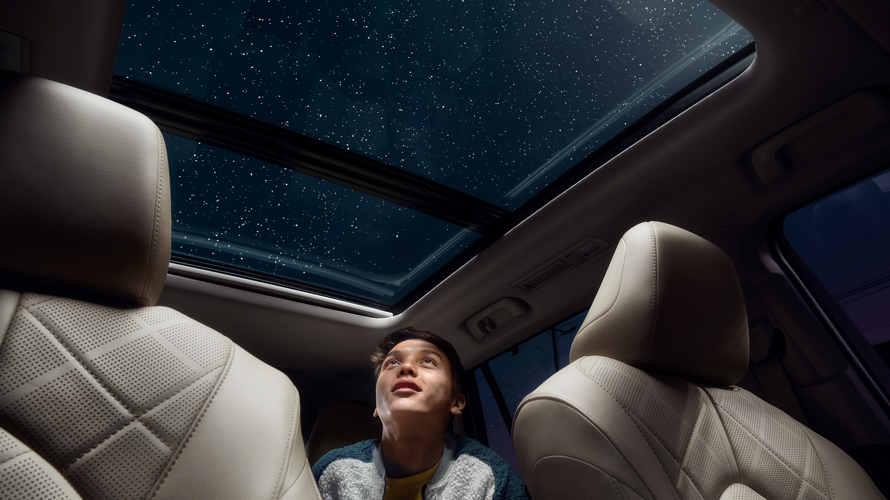 Dazzling Sun Roof in the 2020 Highlander