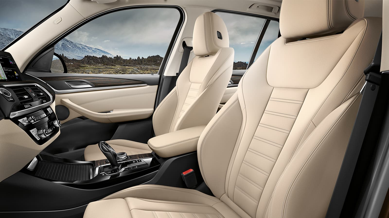 Upscale Seating in the 2020 BMW X3