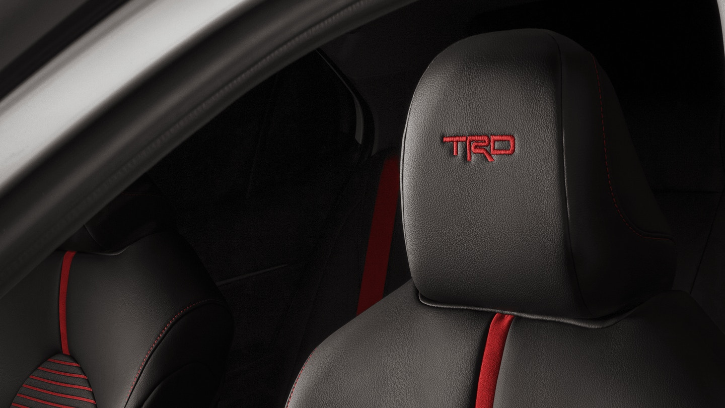 Available Leather-Trimmed Seating in the 2020 Toyota Camry