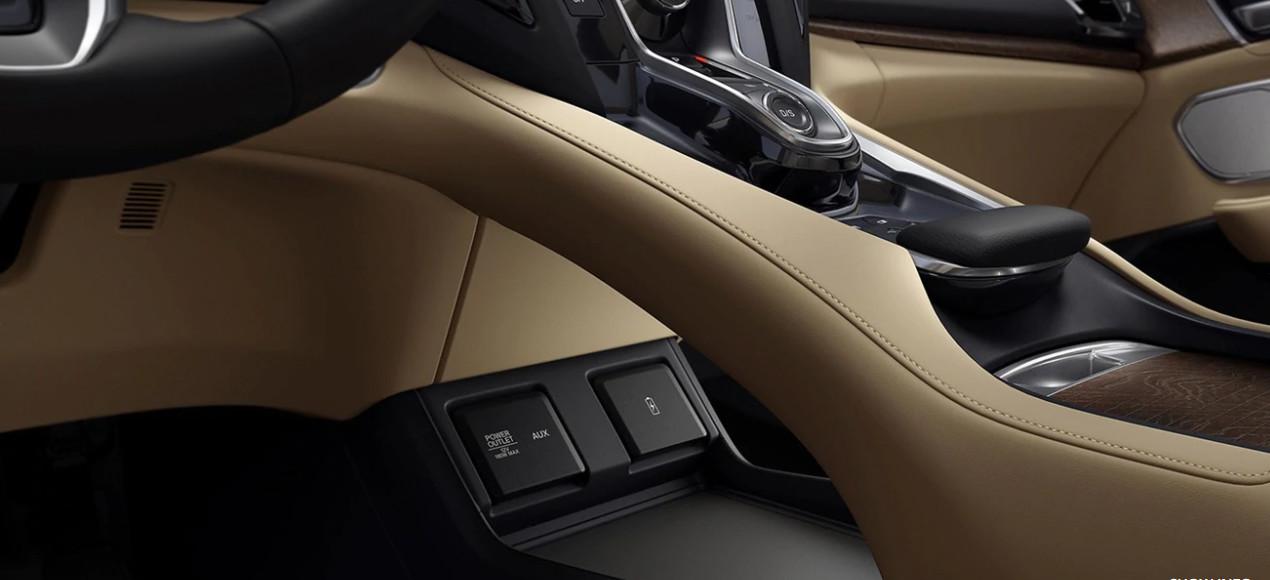 Interior of the 2020 Acura RDX