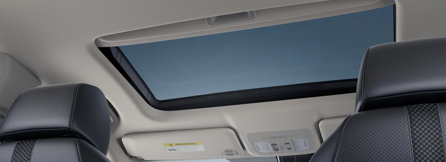 Power Moonroof in the 2020 Civic