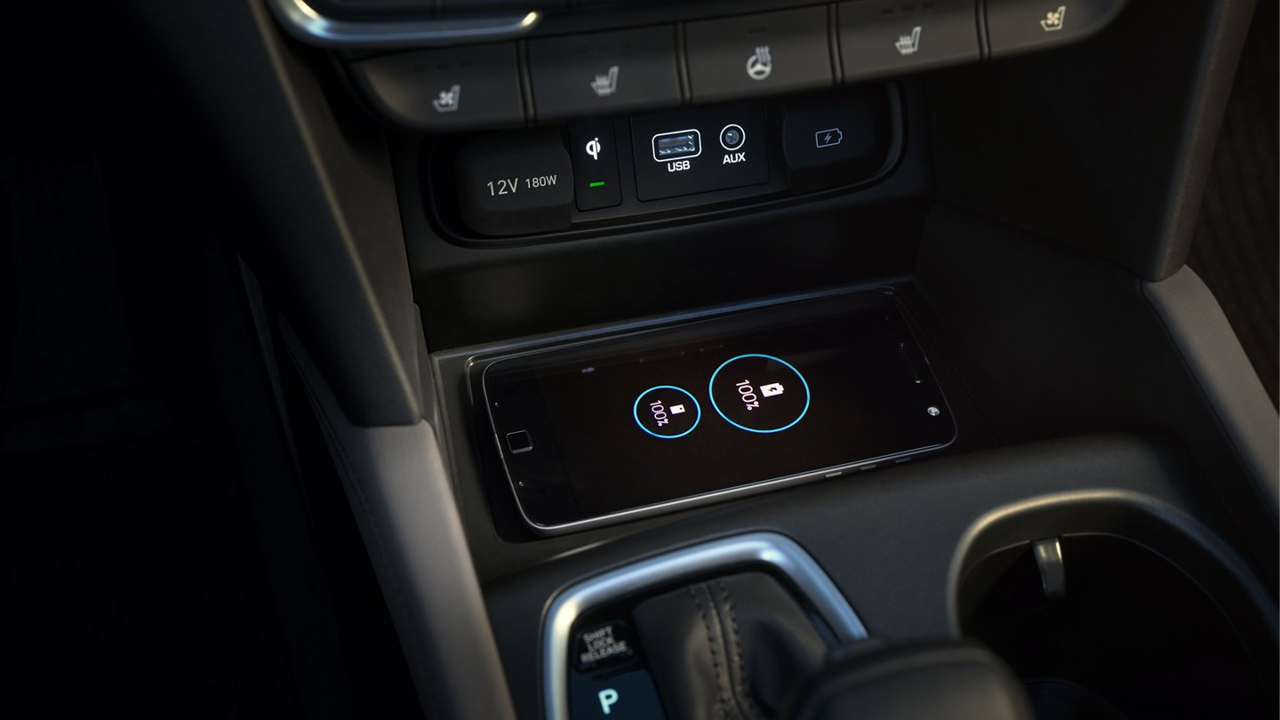 Charge Your Phone Quickly in the 2020 Hyundai Santa Fe!