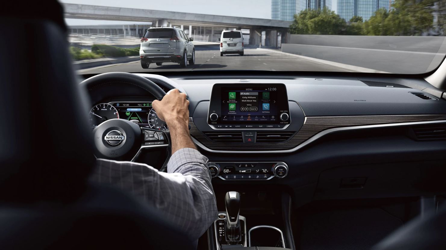Interior of the 2020 Nissan Altima