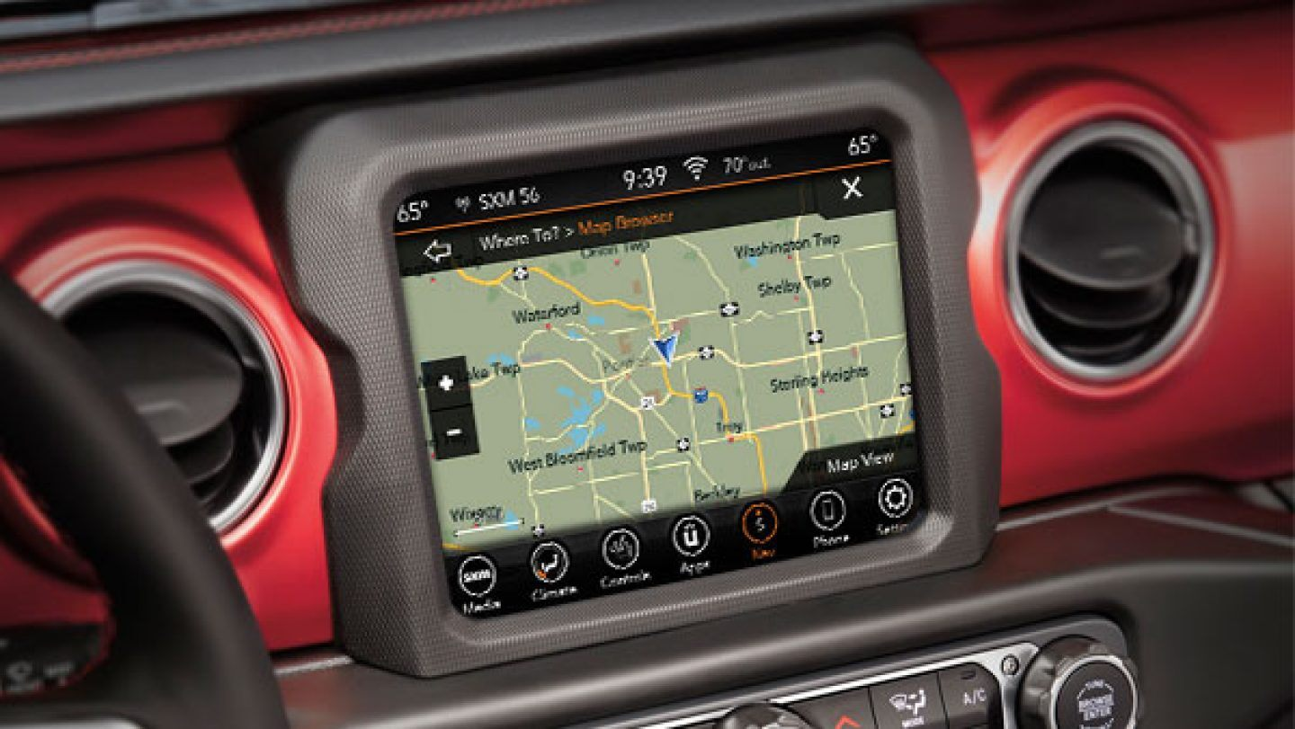 2020 Jeep Gladiator Touchscreen