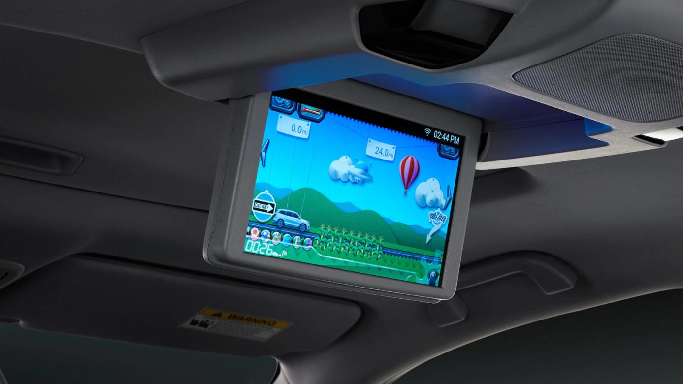 2020 Pilot Rear Entertainment System